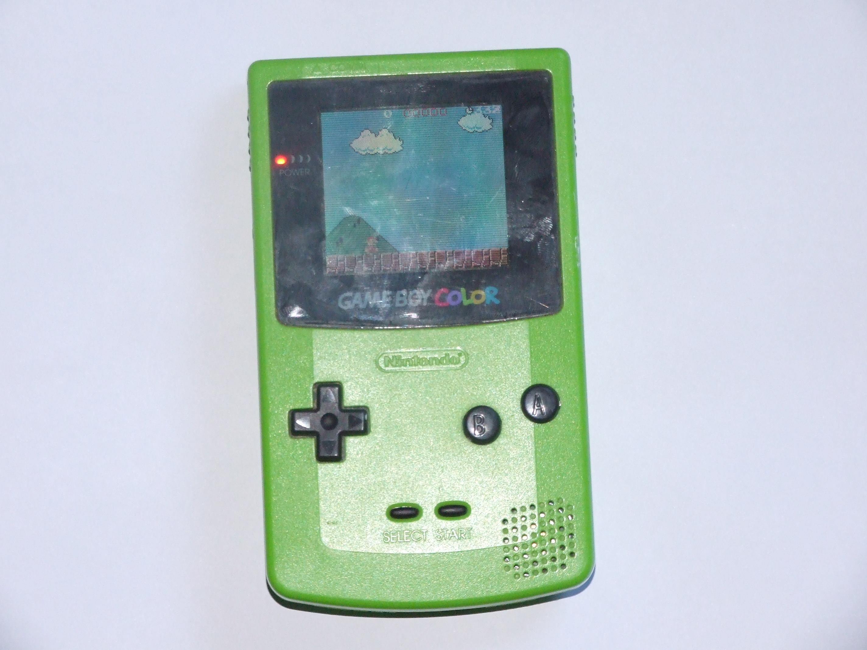 Game boy color super mario bros deluxe - Deluxe Cartridge Game Boy Color Playing Super Mario Bros