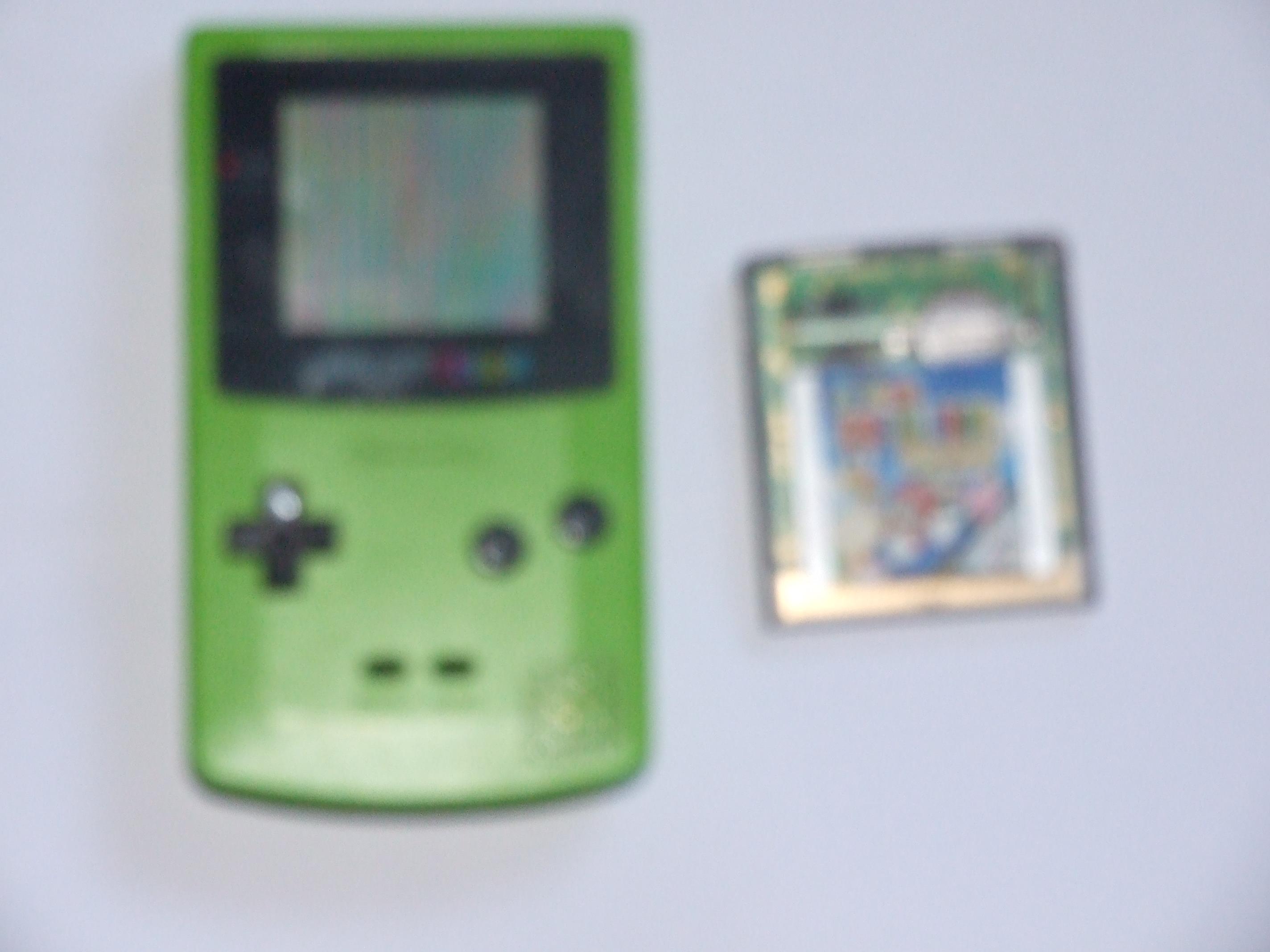 Retro Pick Ups Nintendo Game Boy Color Super Mario Bros Deluxe